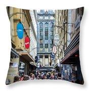 Melbourne City Throw Pillow