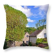 Melbourne Hall Mill - Derbyshire Throw Pillow