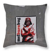 Melburnbug Throw Pillow