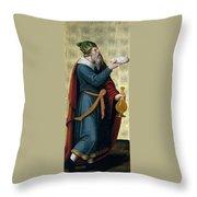 Melchizedek King Of Salem Throw Pillow