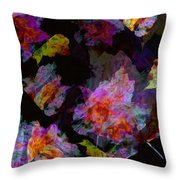 Melee On The Wind Throw Pillow