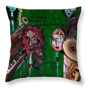 Melissa Axel At Swallow Hill Throw Pillow