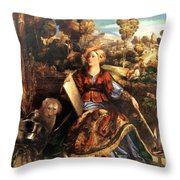 Melissa Circe 1507 Throw Pillow