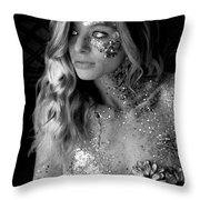 Melissa Sparkles Throw Pillow