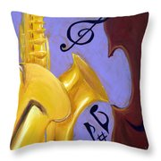 Mellow Me Throw Pillow