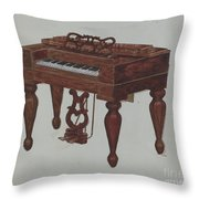 Melodeon Throw Pillow