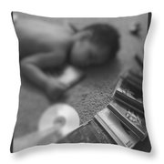 Melodic Dreams Throw Pillow