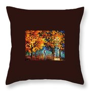 Melodies From The Past Throw Pillow