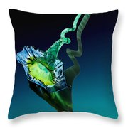 Melodious Growth Throw Pillow
