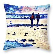 Melodramatic Moment Throw Pillow