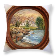 Melody Of Autumn. Throw Pillow