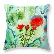 Melody Of Color Throw Pillow