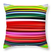 Melon Mania Throw Pillow