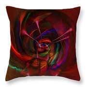 Melted Magic Throw Pillow