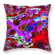 Melted Together  Throw Pillow