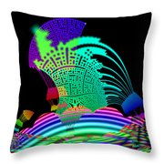 Melterners Throw Pillow