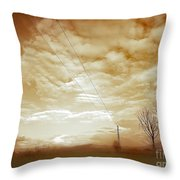 Melting Cold Throw Pillow