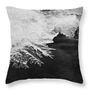 Melting Creek Throw Pillow