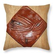 Melting Eye - Tile Throw Pillow