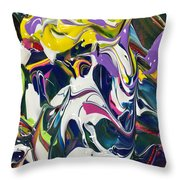Melting Into The Eyes Of A Daydreamer Throw Pillow