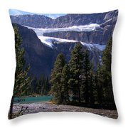 Meltwater Throw Pillow