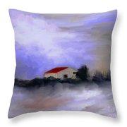 Memoire Hivernale Throw Pillow
