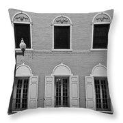 Memorial Day Flag Roanoke Virginia Throw Pillow