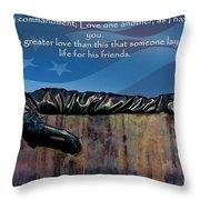 Memorial Day Remember Throw Pillow
