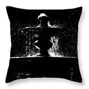 Memorial Fountain H C Throw Pillow
