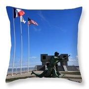 Memorial To The Fallen Soldier Throw Pillow