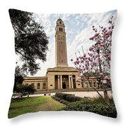 Memorial Tower Throw Pillow