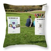 Memorials And Outdoor Bands Throw Pillow