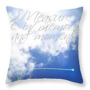 Memories And Moments Throw Pillow
