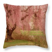 Memories - Holmdel Park Throw Pillow