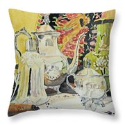 Memories In Reflection I Throw Pillow