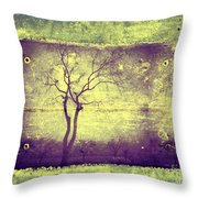 Memories Like Trees Throw Pillow