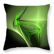 Memories Of Green Throw Pillow