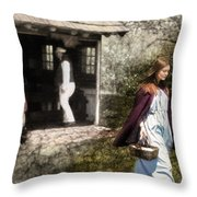 Memories Of Home Throw Pillow