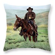Memories Of Molly Throw Pillow