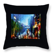 Memories Of Paris Throw Pillow