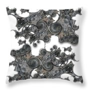 Memories Of Silent Creation Throw Pillow