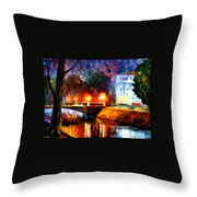 Memories Of The First Love Throw Pillow