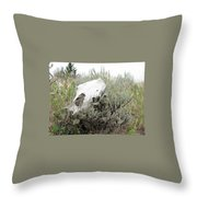 Memories Past Throw Pillow