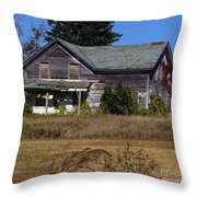 Memories Under The Vines 2 Color Throw Pillow
