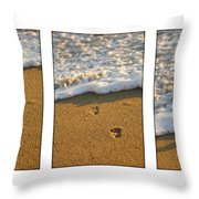 Memories Washed Away Throw Pillow