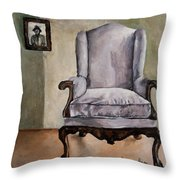 Memory Chair Throw Pillow