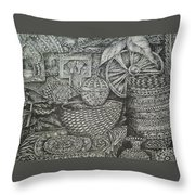 Memory Lence Throw Pillow