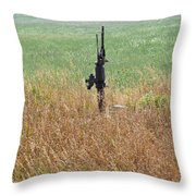 Memory's Of Water Pumped Throw Pillow