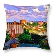 Memphis Church Throw Pillow