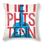 Memphis Poster - Tennessee Throw Pillow